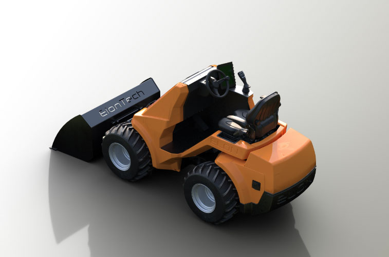 Elon12 mini wheel loader
